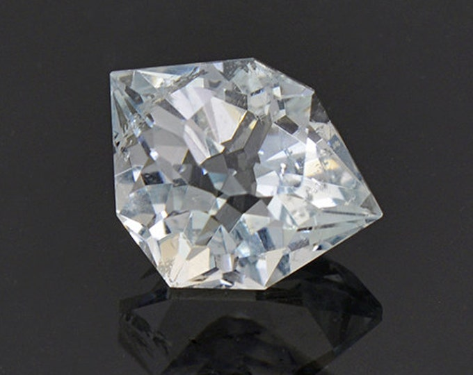 Custom Cut Blue Topaz Gemstone from Colorado 4.21 cts