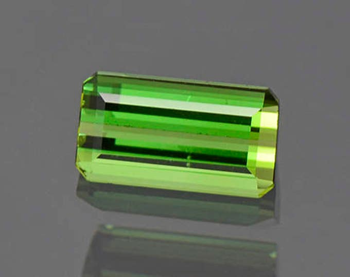 Lovely Vivid Green Brazilian Tourmaline Gemstone 1.45 cts.