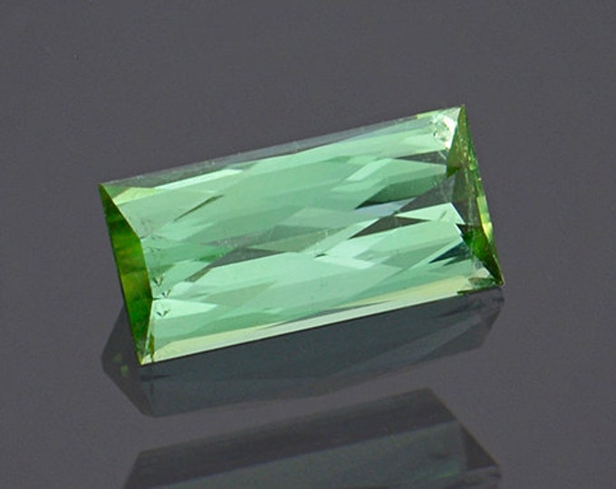 Splendid Mint Teal Green Tourmaline Gemstone from Maine 1.30 cts.