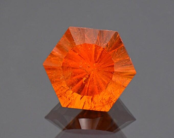 Fiery Orange Spessartine Garnet Gemstone from Nigeria 9.46 cts.