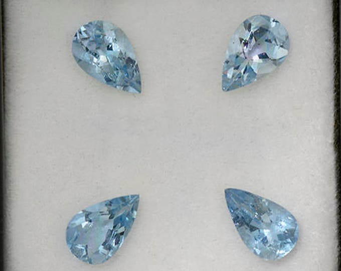 Beautiful Blue Aquamarine Gemstone Set from Erongo 2.72 tcw.