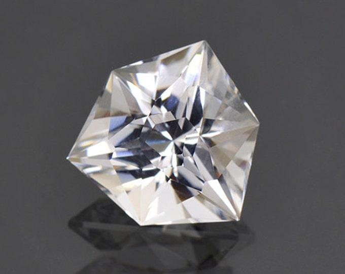 Rare Custom Cut Pollucite Gemstone from Afghanistan 7.61 cts.
