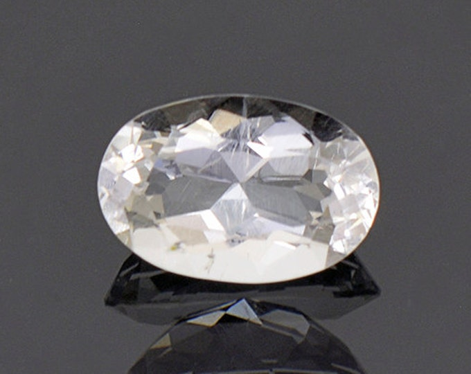Nice Rare Pollucite Gemstone from Afghanistan 2.37 cts.