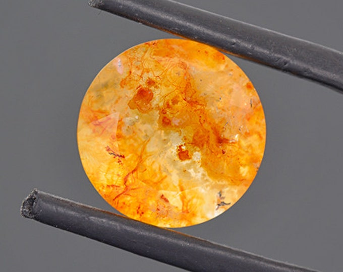 Excellent Vascular Opal Gemstone from Mexico 5.71 cts.