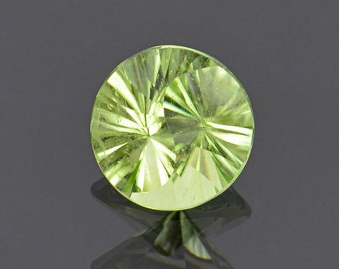 Yin Yang Cut Mint Green Peridot Gemstone from Pakistan 2.68 cts.