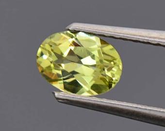 SALE! Stunning Yellow Grandite Garnet Gemstone from Mali 0.88 cts.