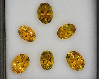 Beautiful Sunset Tourmaline Gemstone Set from Tanzania 4.08 tcw.