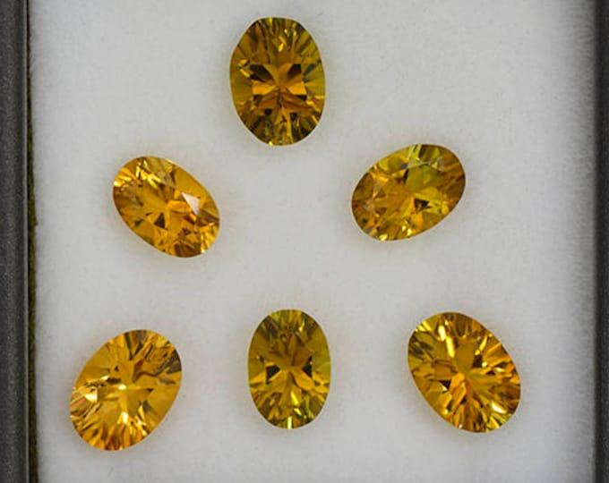 SALE! Beautiful Sunset Tourmaline Gemstone Set from Tanzania 4.08 tcw.