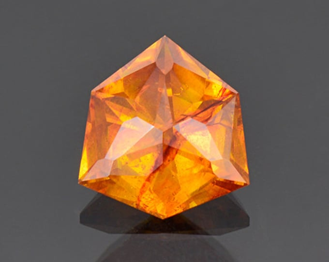 Beautiful Fiery Orange Sphalerite Gemstone from Spain 5.22 cts.