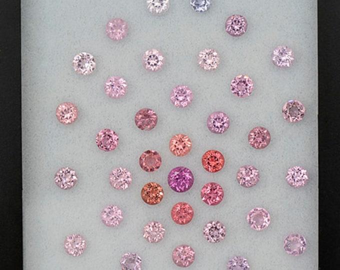 SALE! Beautiful Multi Color Spinel Gemstone Set from Burma and Sri Lanka 4.77 tcw.