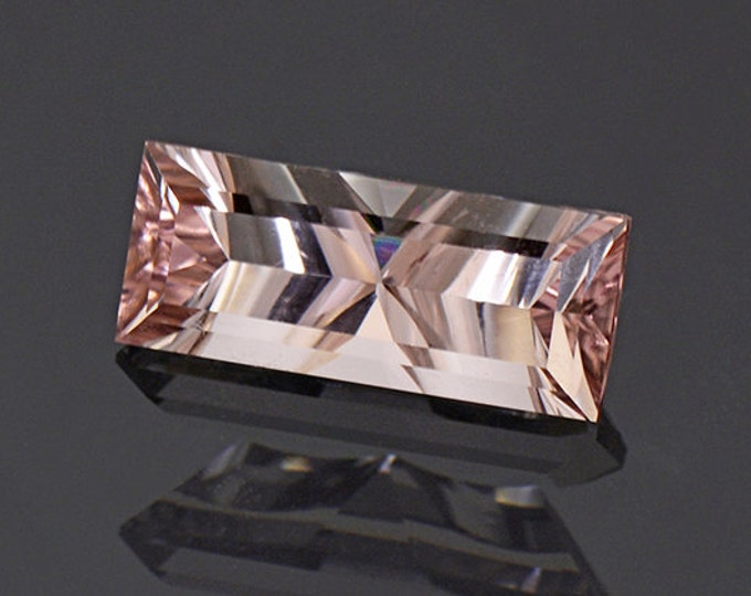 Concave Cut Pink Tourmaline Gemstone from Afghanistan 2.00 cts.