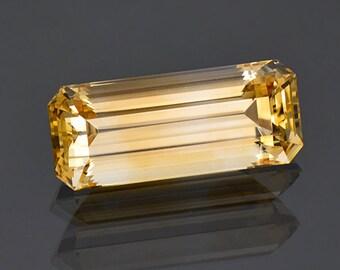 Bright Golden Yellow Danburite Gemstone from Madagascar 9.77 cts
