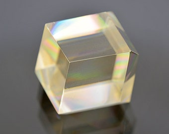 Fantastic Faceted Calcite Gemstone Crystal from Russia 54.66 cts.