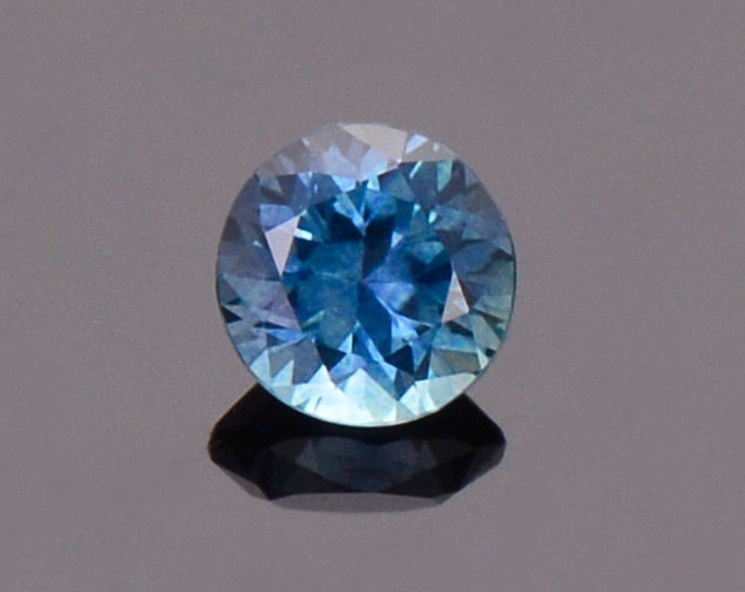 Blue Sapphire Gemstone from Montana, Round, 0.50 cts., 4.5 mm.