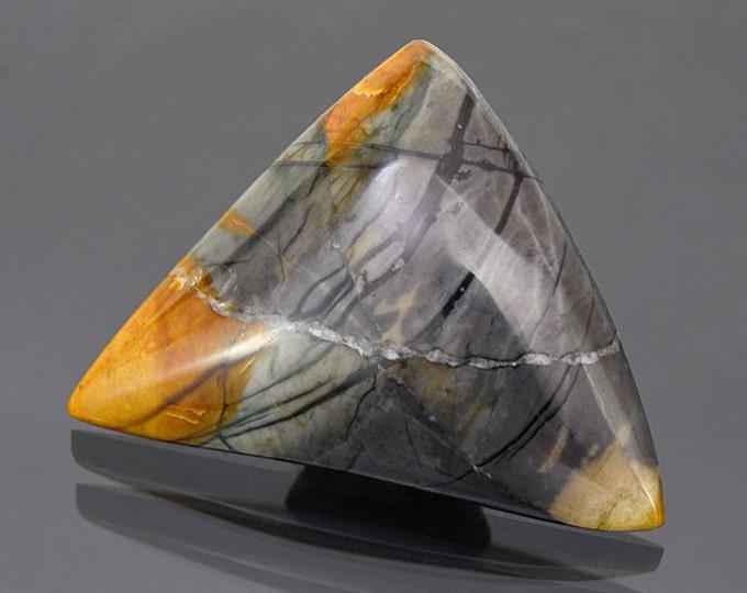 Fine Brecciated Picasso Jasper from Utah 58.44 cts.