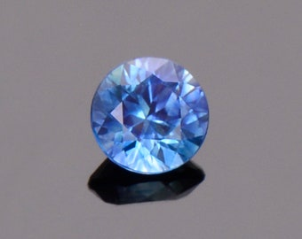 ETSY BIRTHDAY SALE! Blue Sapphire Gemstone from Montana, Round, 0.50 cts., 4.6 mm.