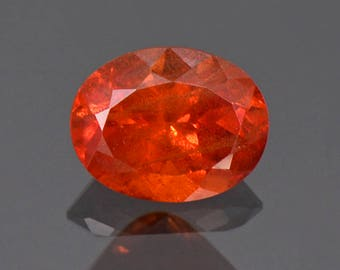SALE! Fantastic Large Rare Orange Triplite Gemstone from Pakistan 2.41 cts.