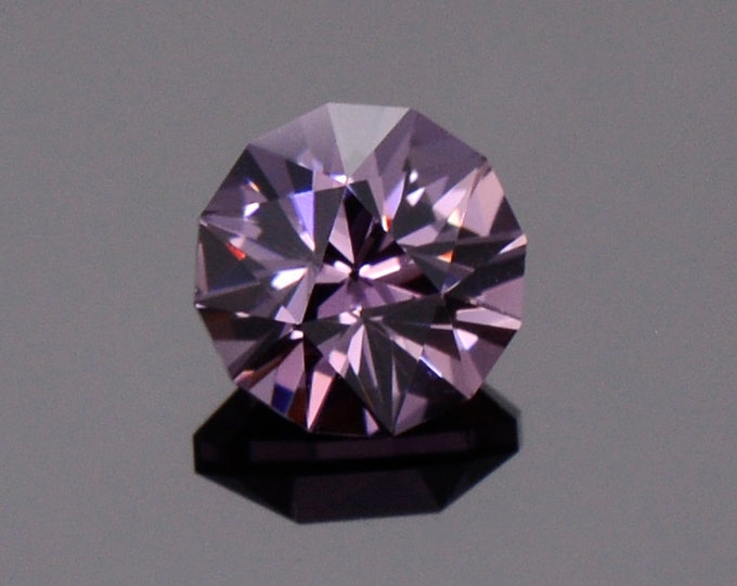 Stunning Silvery Purple Spinel Gemstone from Myanmar, 1.17 cts., 6.1 mm., Custom Precision Round Cut