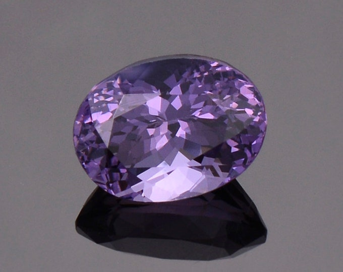 Beautiful Grape Purple Spinel Gemstone from Myanmar, 2.70 cts., 9.1 x 6.8 mm., Oval Shape.