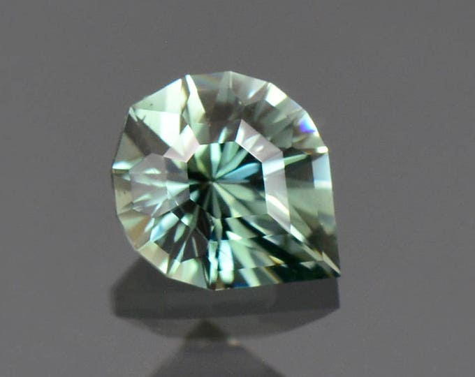 Fantastic Precision Cut Evergreen Color Tourmaline Gemstone from the Congo 1.35 cts.