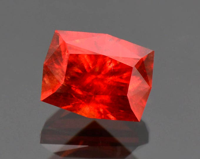Exquisite Precision Cut Red Rhodochrosite Gemstone from South Africa 6.25 cts.