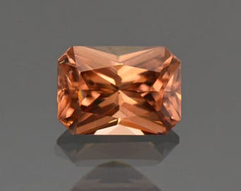 SALE! Stunning Peach Bellini Zircon Gemstone from Tanzania 2.20 cts.