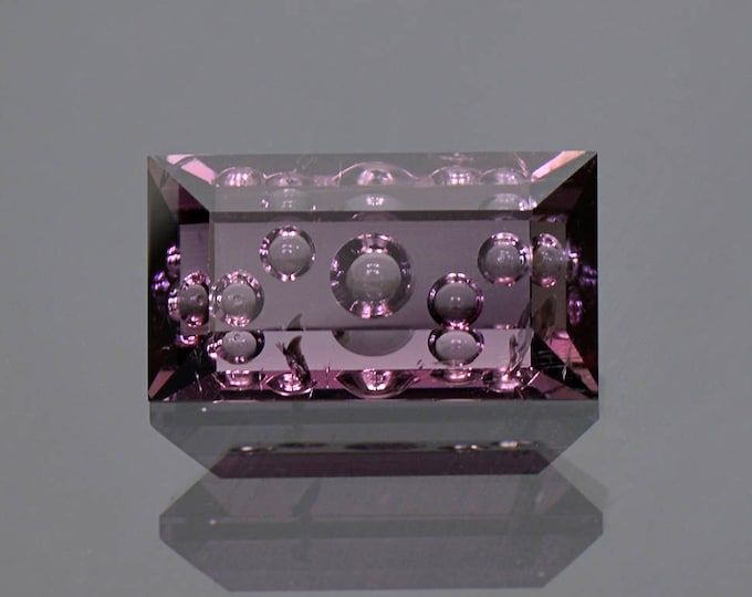 Beautiful Hand Carved Deep Grape Purple Tourmaline Gemstone 8.00 cts.