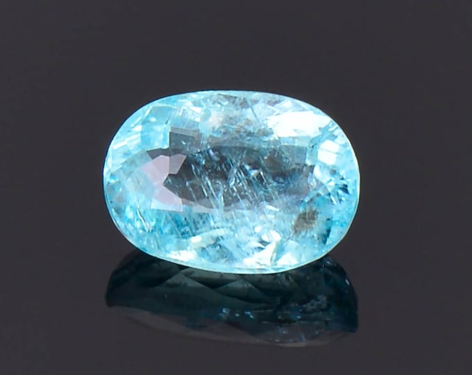 Beautiful Paraiba Type Cuprian Tourmaline Gemstone from Mozambique 1.15 cts.