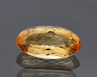 SALE! Pretty Orange Imperial Topaz Gemstone from Brazil 6.38 cts