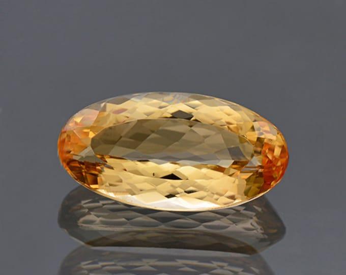 Pretty Orange Imperial Topaz Gemstone from Brazil 6.38 cts