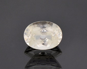 Rare Colorless Aragonite Gemstone from The Czech Republic 2.88 cts.