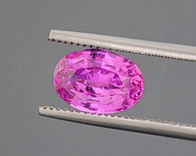 Exceptional Hot Pink Sapphire Gemstone from Sri Lanka 2.11 cts