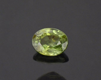 Lovely Forest Green Sapphire Gemstone from Montana 0.69 cts.