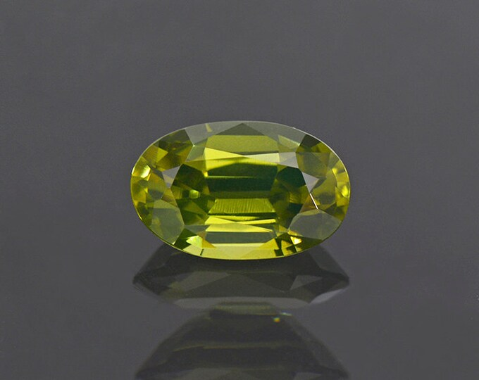 Amazing Green Zircon Gemstone from Sri Lanka 2.30 cts