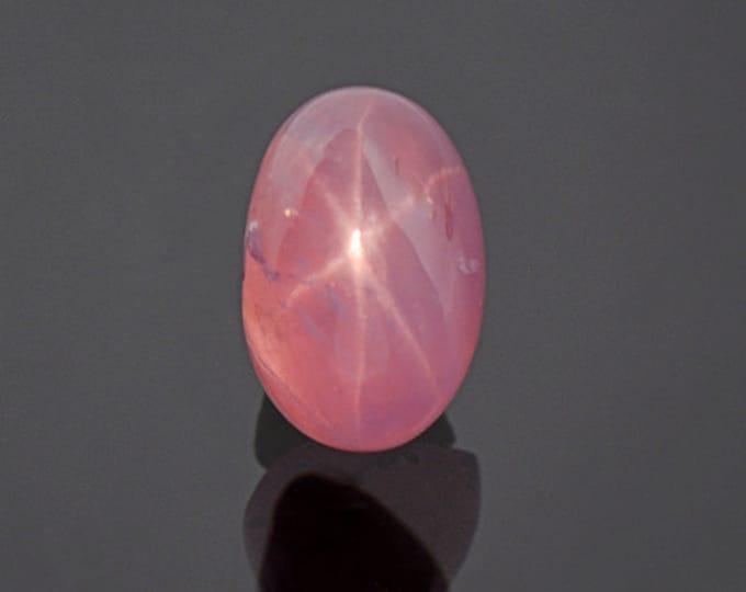 Bright Pink Star Sapphire Cabochon from Sri Lanka 3.42 cts