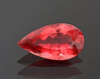 SALE! Exceptional Quality Red Rhodochrosite Gemstone from Brazil 15.86 cts