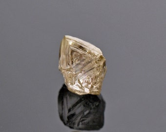 SALE! Aesthetic Sharp Natural Diamond Crystal from Russia 0.71 cts.