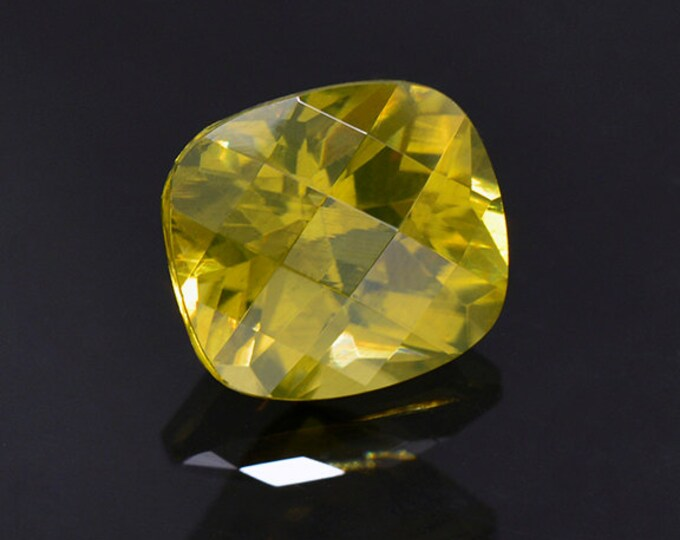 Outstanding Yellow Zircon Gemstone from Sri Lanka 5.36 cts