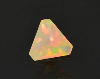 SALE! Pretty Multi Color Opal Gemstone from Ethiopia 1.18 cts