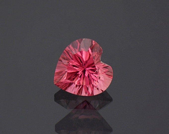 Enchanting Pink Heart Tourmaline Gemstone from Afghanistan 1.98 cts
