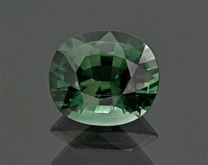 Beautiful Evergreen Tourmaline Gemstone from Mozambique 7.56 cts