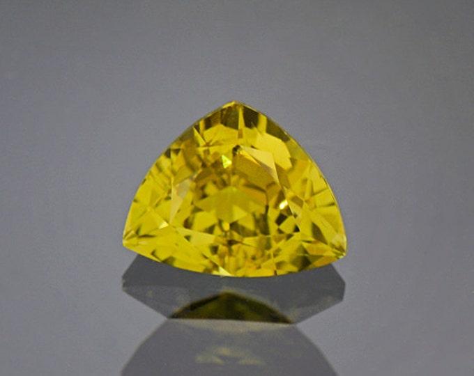 Rich Yellow Green Heliodor Beryl Gemstone from Brazil 2.70 cts