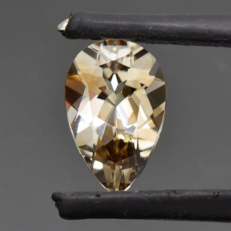 Fine Smoky Topaz Gemstone from Sri Lanka 3.60 cts