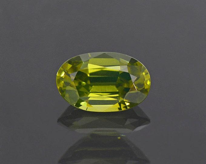 Amazing Green Zircon Gemstone from Sri Lanka 2.30 cts