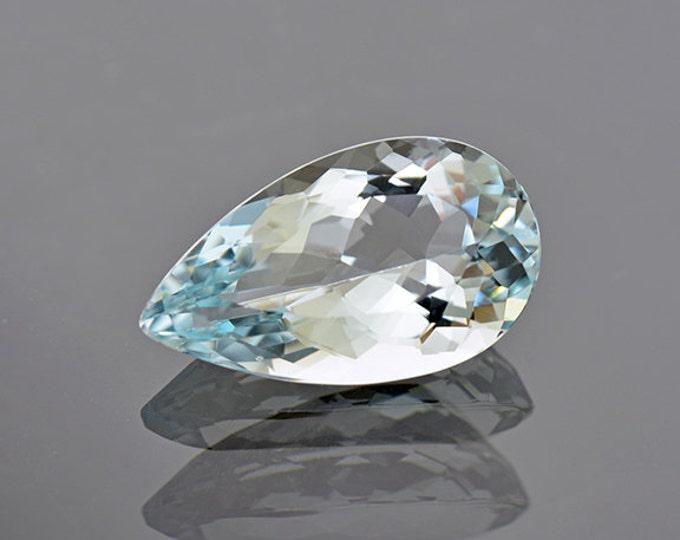 Gorgeous Baby Blue Brazilian Aquamarine Gemstone 6.71 cts