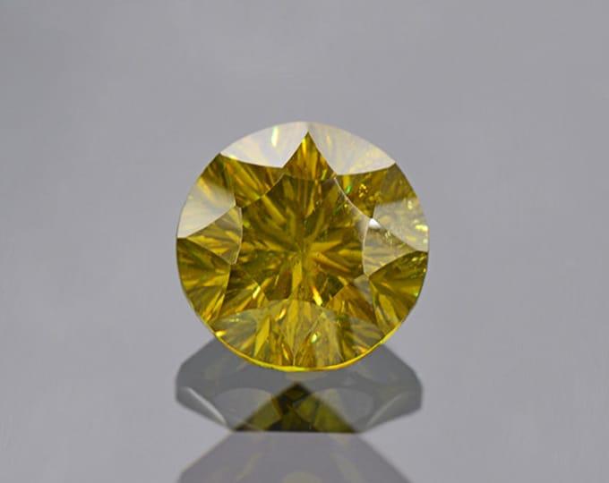 Green Sphalerite Gemstone from Bulgaria 4.48 cts.
