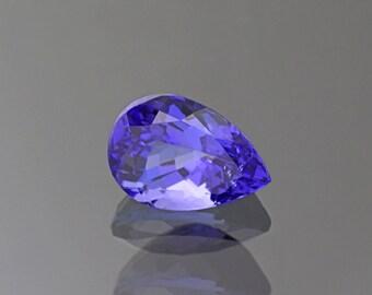 Outstanding Blue Purple Tanzanite Gemstone from Tanzania 3.02 cts.