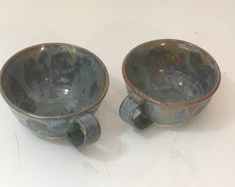 Coffee/Soup Mugs SET of 2 -  2MUGS3\6TDC-RM#3