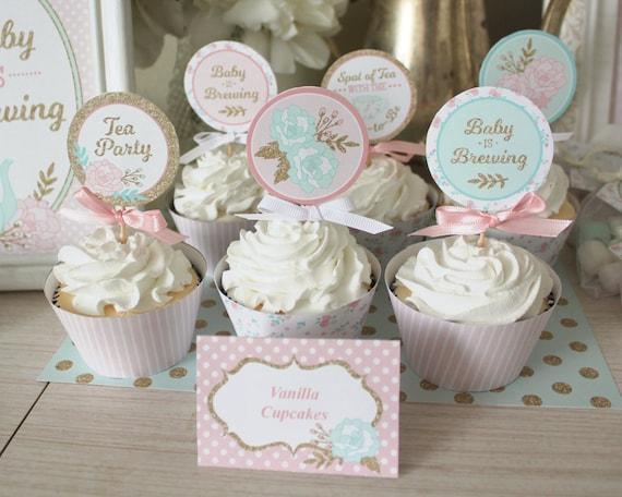 12 anneaux fiançailles Table Confetti Cupcake Mariage saupoudrer décorations