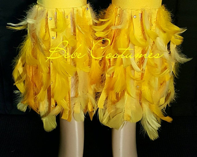 Bebe Costumes Made To Order! Exotic Dancewear Bling Fridge Ankle leg warmers Pick A Color!
